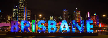 Michael Muxworthy - River city at night, Brisbane