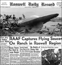 Roswell paper reported alien crash