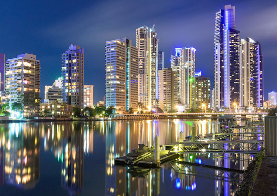 Michael Muxworthy Gold Coast by night