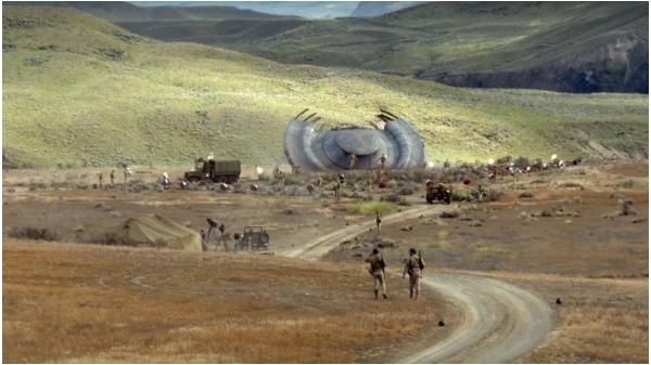Roswell alien crash site