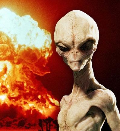 Alien prophesized Armageddon