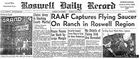 UFO crash at Roswell