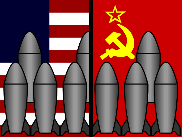 the development of the arms race During the cold war the united states and the soviet union became engaged in a nuclear arms race they both spent billions and billions of dollars trying to build up huge stockpiles of nuclear weapons near the end of the cold war the soviet union was spending around 27% of its total gross national.
