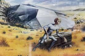 Roswell alien encounter